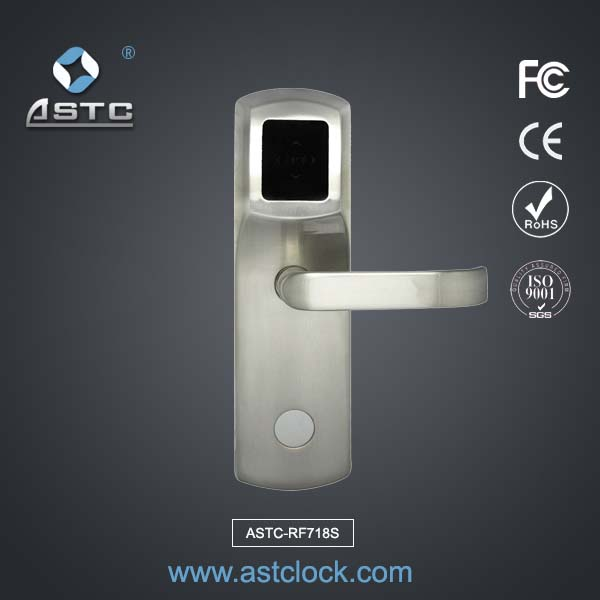 Keyless Entry System Door Lock Astc Rf718s Astclocks