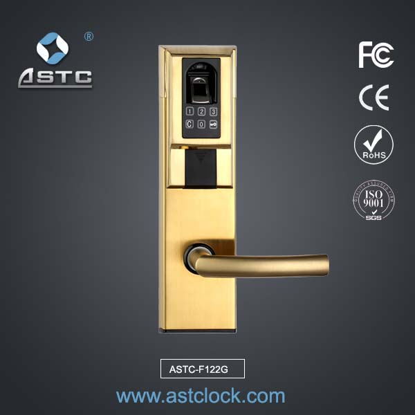 Fingerprint door lock hotel lock system astclocks - Advantages disadvantages electronic locks ...